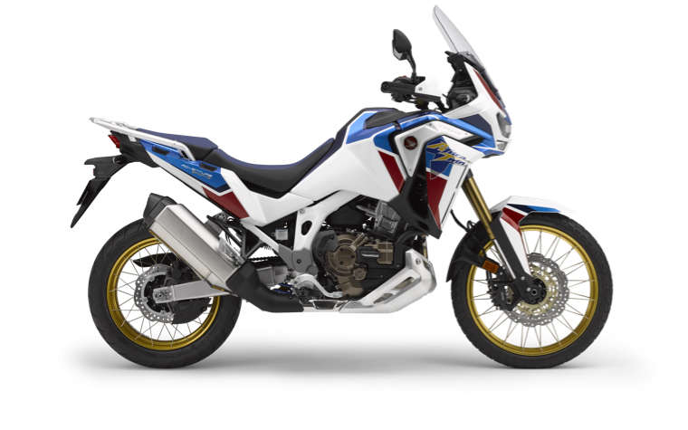 Honda Africa Twin Adventure Sports right side studio shot