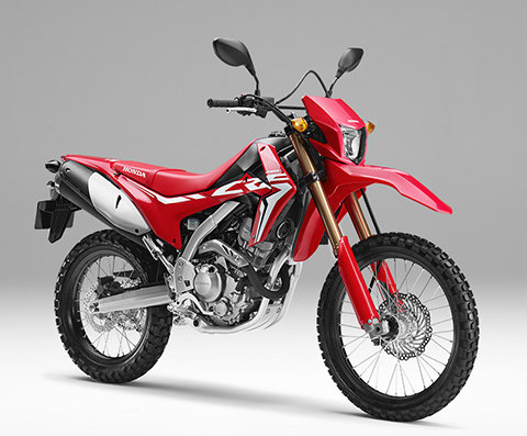 CRF250L 3/4 front right side