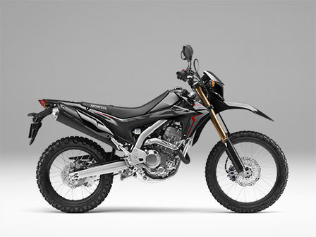 CRF250L black right side