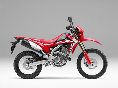 CRF250L red right side
