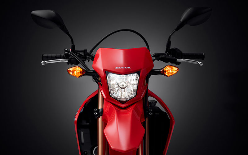 CRF250L front facing zoom on headlights