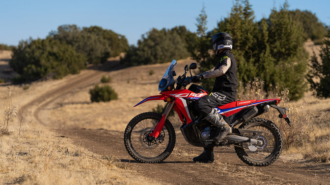 Honda CRF300 Rally is about freedom