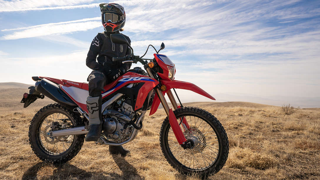 Honda CRF300L, BE THERE. WHEREVER THERE IS
