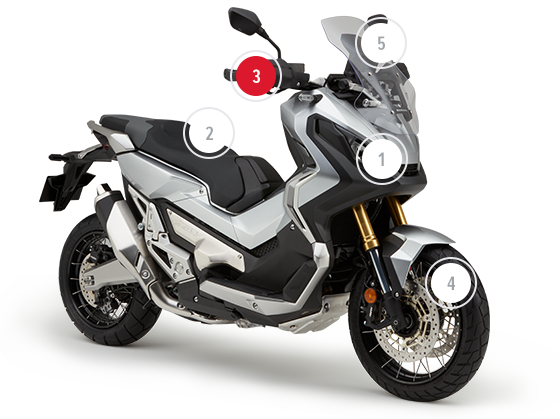 Honda X Adv 745cc Crossover Adventure Bike Honda Uk