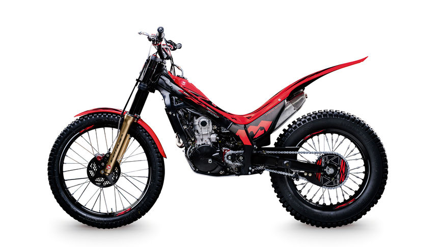 montesa cota rr  specifications trial motorcycles