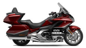 Honda GL1800 Gold Wing Tour studio side shot