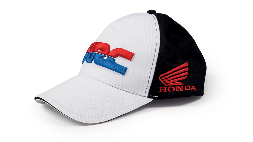 Honda HRC Replica Baseball Cap with HRC colours and logo.