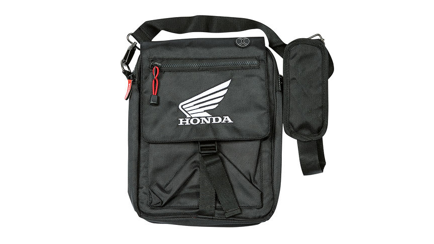 iPad bag with Honda wings logo