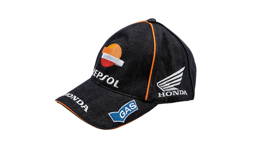 Blue cap with Repsol logo