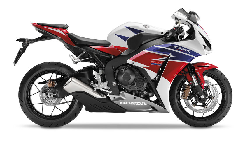 Side facing Honda CBR1000RR Fireblade.