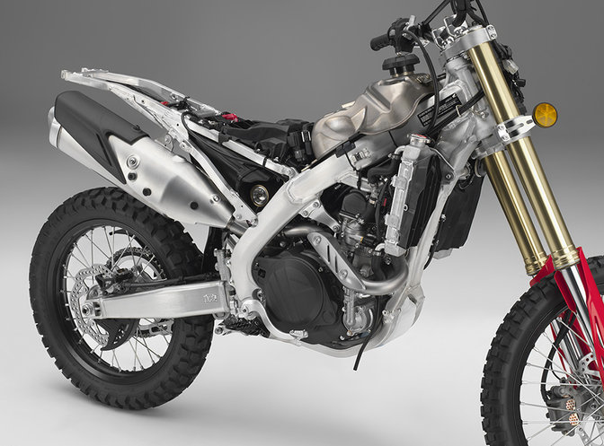 CRF450L, right side.