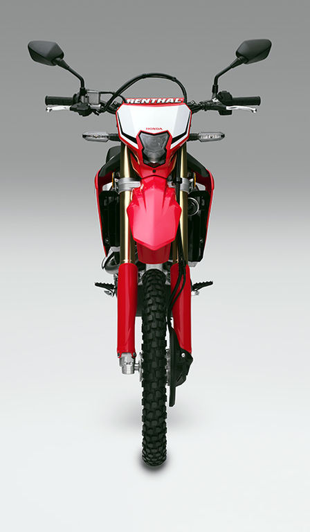CRF450L front face