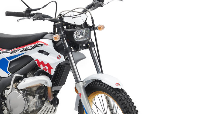 Montesa 4Ride zoom on the fork