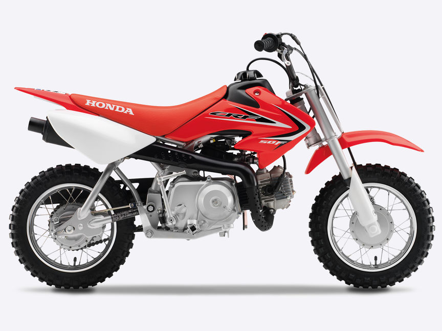 New CRF50F | 50cc Mini Dirt Bike - Perfect for Kids | Honda UK