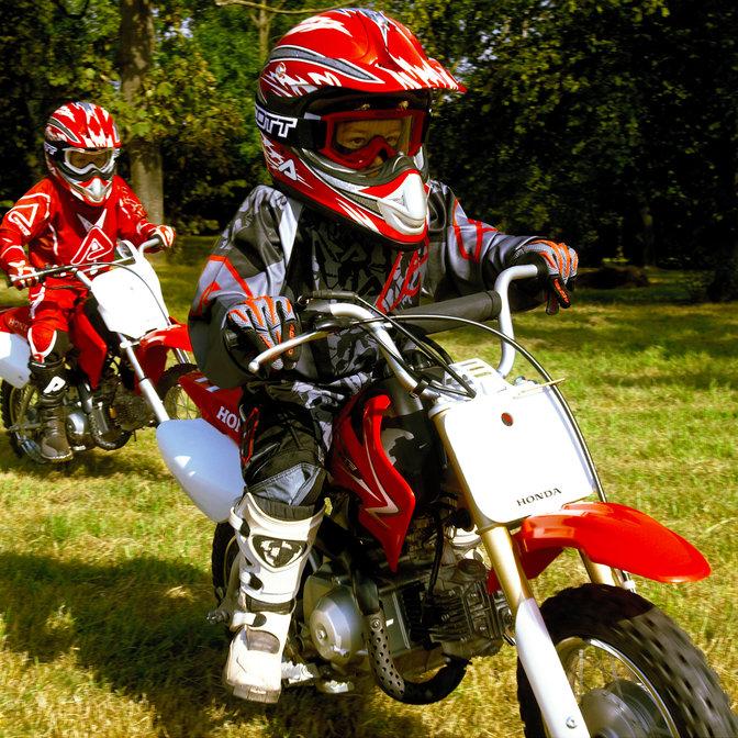 CRF50F   50cc Mini Dirt Bike - Perfect for Kids   Honda UK