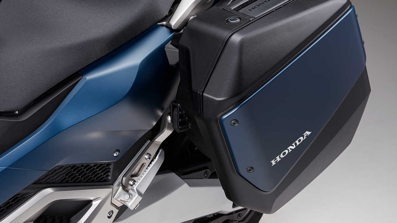 Forza 750, TOP BOX & MATCHING PANNIERS