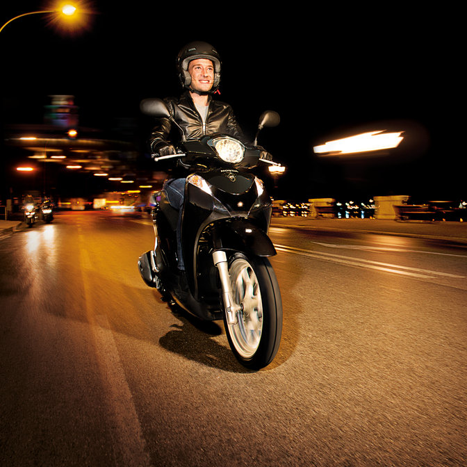 Sh Mode 125 Lightweight Practical Scooters Honda Uk
