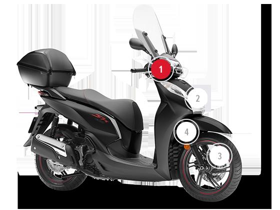 Honda sh 300 2019
