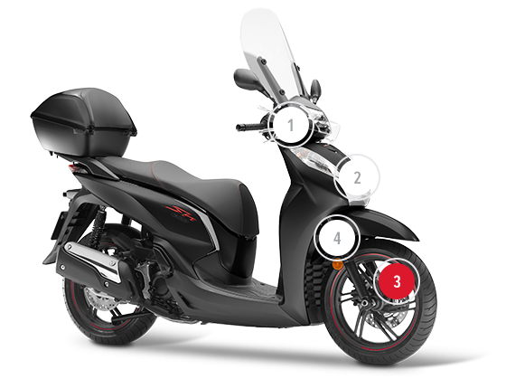 Honda Honda Motorcycles Motorcycles And Scooters Scooter