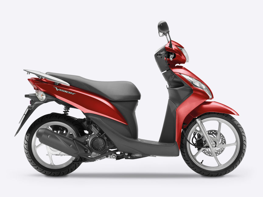 overview vision scooter range motorcycles honda. Black Bedroom Furniture Sets. Home Design Ideas