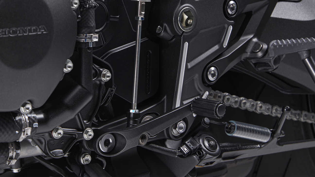 CB1000R Black Edition, Three-level quick shifter