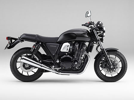 CB1100 RS right side Darkness Black Metallic