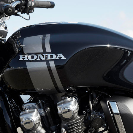 Close Up Of Honda CB1100 RS Fuel Tank