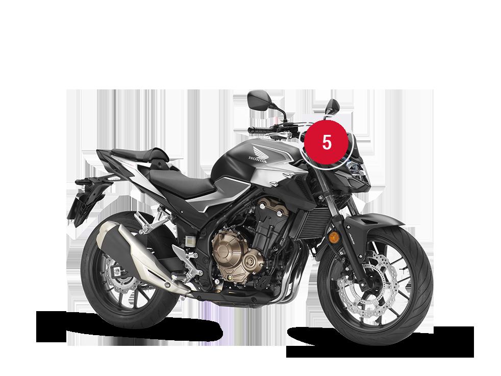 Overview Cb500f Street Range Motorcycles Honda