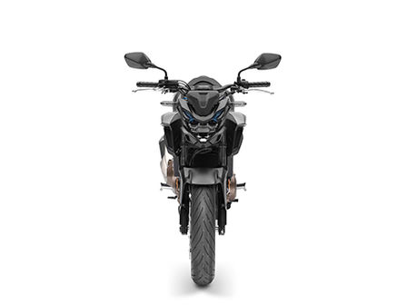 CB500F, front view