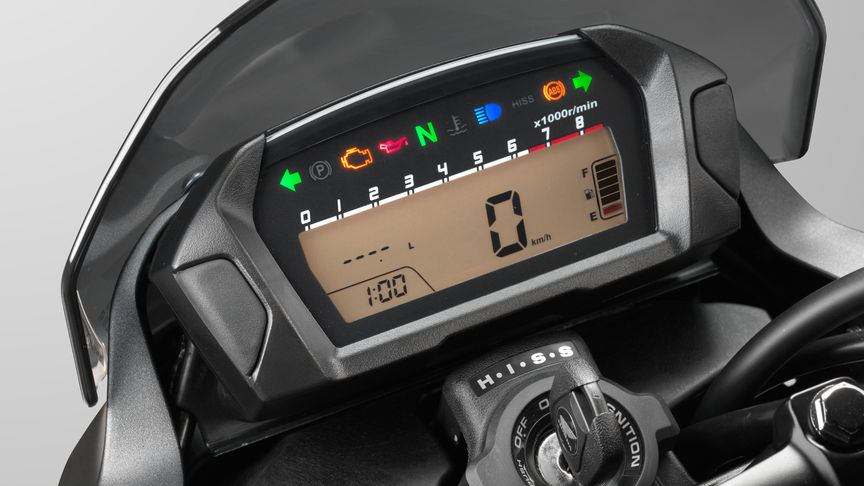 NC750S dash display
