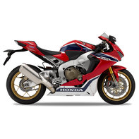 Side shot of Honda CBR1000RR Fireblade SP.