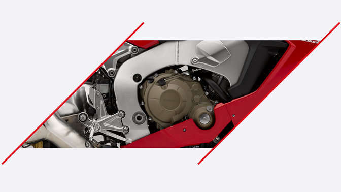 CBR1000RR Fireblade SP zoom on engine