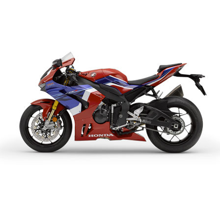 Honda Fireblade SP, left side, Tricolor model
