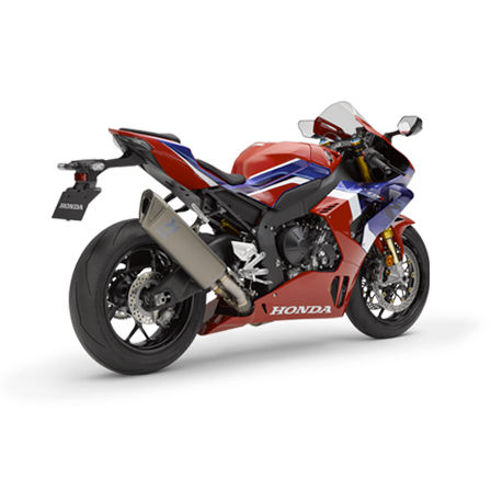 Honda CBR1000RR-R Fireblade SP, 3-quarter right rear, Tricolor model