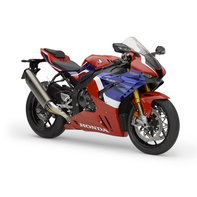 Honda CBR1000RR-R Fireblade SP, right front quarter, Tricolor model