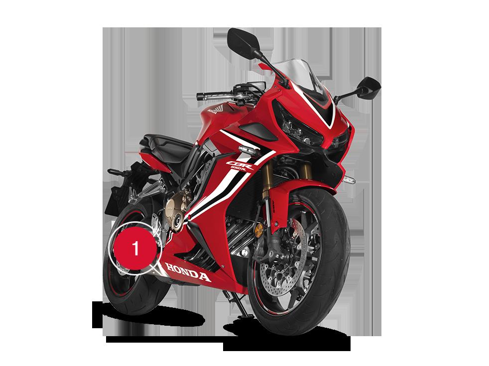 Overview Cbr650r Super Sport Range Motorcycles Honda