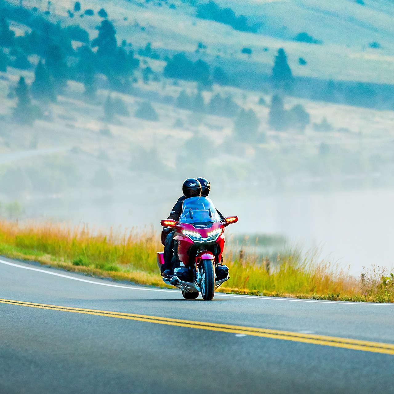 Honda Gold Wing Technology | Touring | Honda Motorcycles