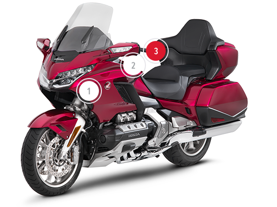 honda gold wing overview touring honda motorcycles. Black Bedroom Furniture Sets. Home Design Ideas