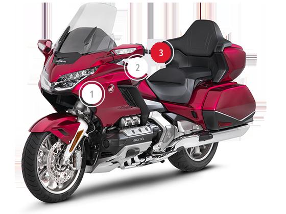 Gl1800 Gold Wing Touring Motorcycles Honda Uk