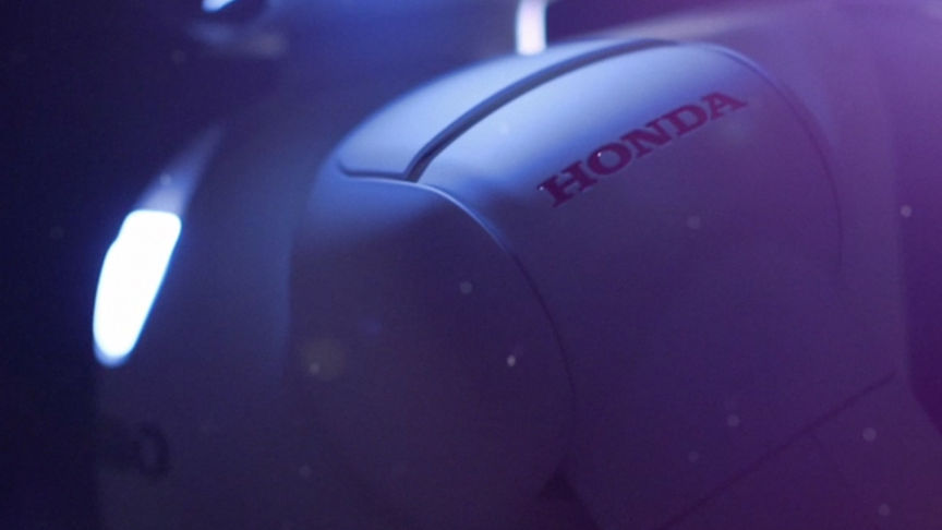 Honda logo on ASIMO