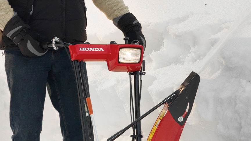 Honda Snow thrower LED light