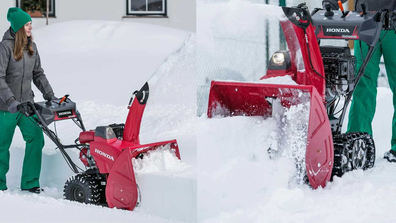 Series 7 snowthrower track or wheel option