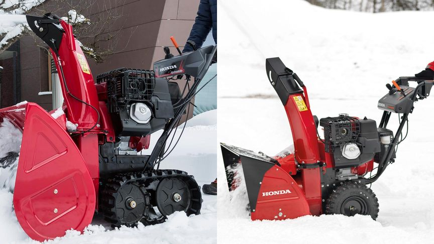 Series 9 snowthrower track or wheel option