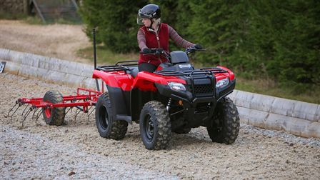 TRX420 Fourtrax | All-Round ATVs | Honda UK