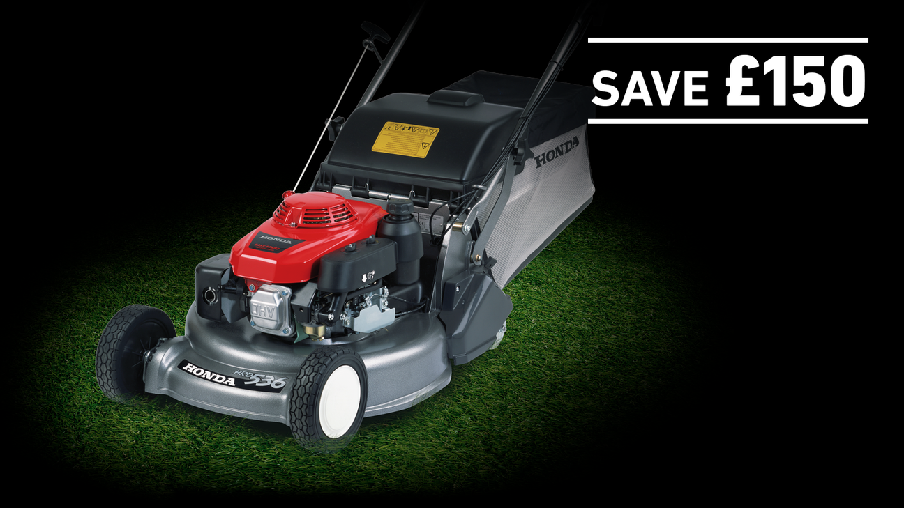 HRD lawnmower with save £150