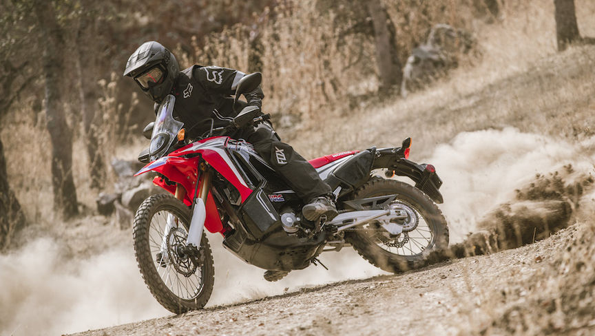The CRF250 Rally