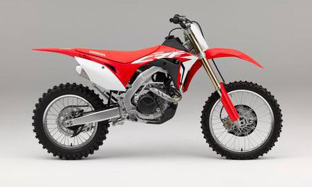 Honda CRF450RX 2017 model
