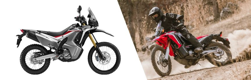 Honda CRF250L Rally 2017 model