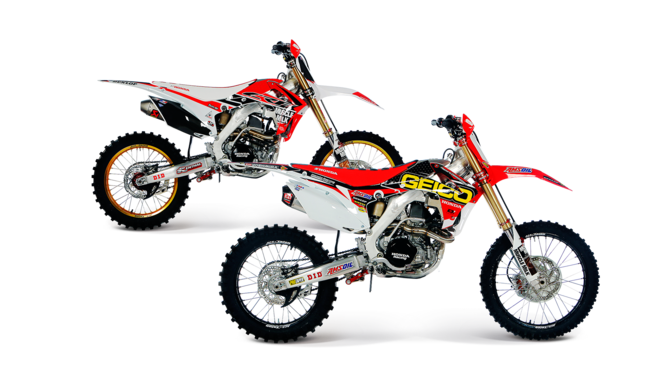Powerful agile off road bike crf450 model honda uk for Honda crf110f top speed
