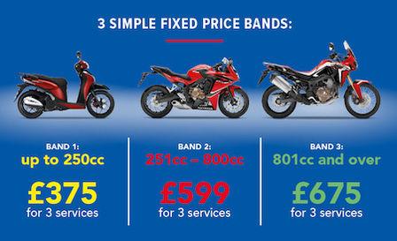Motorcycle Service Plans Motorbike Maintenance Honda Uk